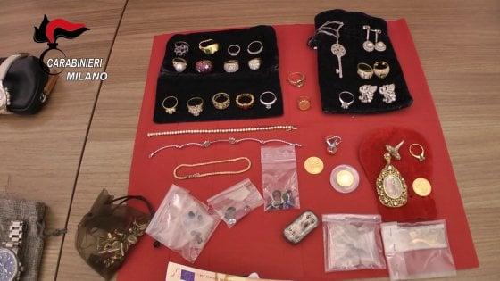 Furti in casa, sette arresti a Milano: 291 diamanti tra fiamme ossidriche e corde da alpinismo