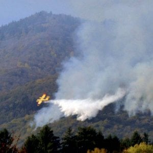 Varese, rogo al Campo dei fiori: bruciati due ettari di bosco, l'ipotesi dell'incendio doloso