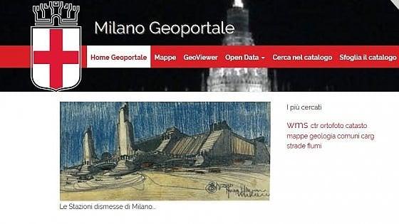 Milano, mappe tematiche e open data: con il Geoportale il sito del Comune è il più smart d'Italia