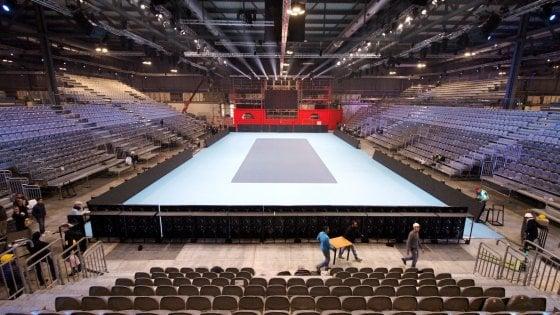 Milano, la Next Gen del tennis trasforma la fiera di Rho-Pero in uno stadio