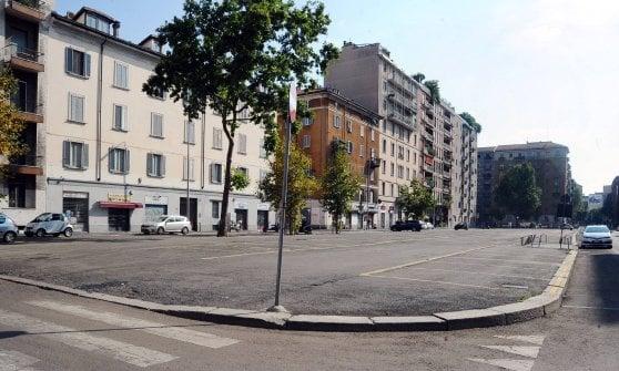 Milano, meno parcheggi e più alberi: ecco il restyling di Sant'Agostino