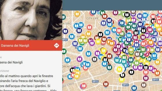 """Milano, la mappa letteraria dei cacciatori di citazioni: """"Da Hemingway al noir, un libro per ogni strada"""""""