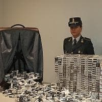 Malpensa, melassa per narghilè e tabacco di contrabbando: in un anno sequestrate 5 tonnellate