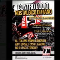Propaganda fascista, allerta nel Lodigiano: Forza Nuova si mobilita contro Fiano
