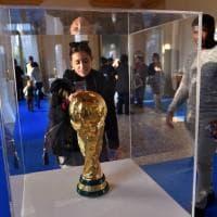 """Milano, magia azzurra in mostra: """"Impossibile immaginare un Mondiale senza l'Italia"""""""