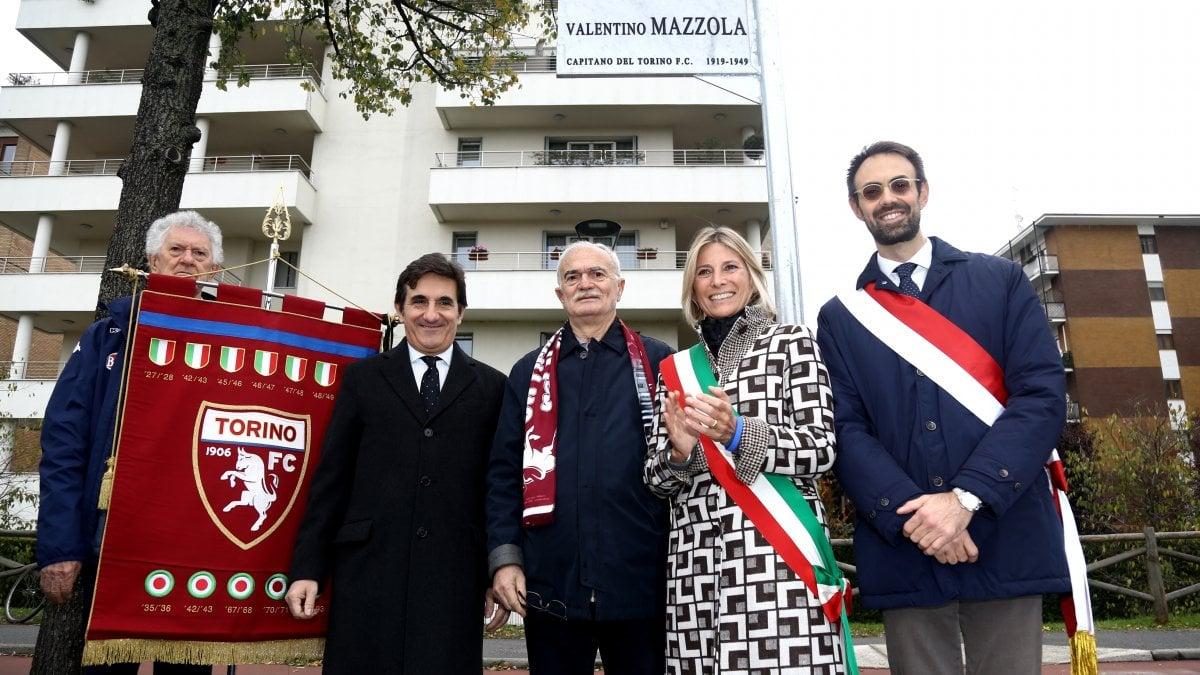 Milano due vie intitolate a Valentino Mazzola e agli Azzurri d