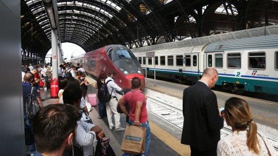 Stazione Centrale, black out: treni in ritardo di circa mezz'ora
