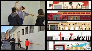 Teatro alla Scala, street art per la sala prove in periferia: il murale votato dai residenti
