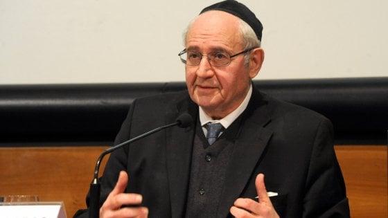Milano, è morto Giuseppe Laras: è stato il volto dell'ebraismo in Italia