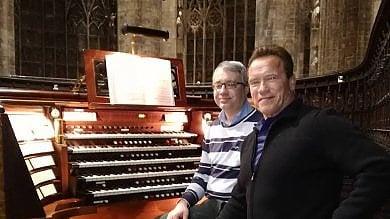 """Terminator folgorato dal Duomo  L'organista: ''Ha voluto che gli suonassi Bach, è stato particolare"""""""
