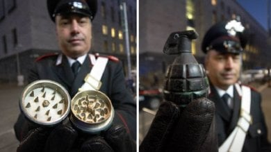 Falso allarme bomba davanti al tribunale  era un grinder, macina-erba per marijuana