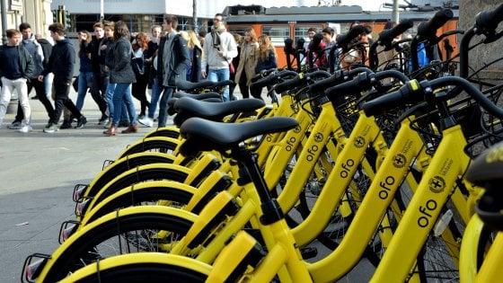 Milano, il bike sharing 'libero' raddoppia: in arrivo 12mila bici anche nell'hinterland