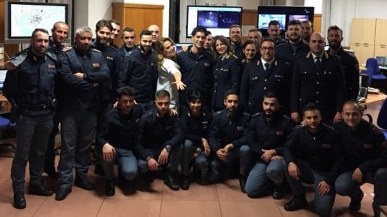 Il video di Barbara D'Urso imbarazza la Polizia