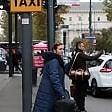 """Foto  Sciopero dei taxi  a Milano """"l'adesione  è molto alta"""": disagi a Linate"""