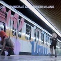 Milano, blitz di 4 writers spagnoli nel deposito Atm: denunciati per imbrattamento