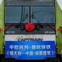Via al primo treno Italia-Cina: piastrelle e macchinari sulla nuova Via della Seta