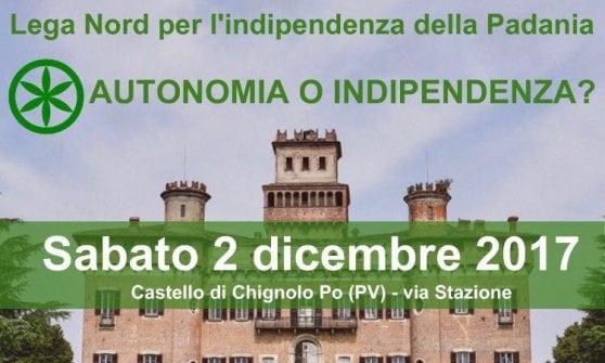 Lega, Bossi raduna gli indipendentisti: dopo 20 anni il summit nella sede del 'Parlamento della Padania'