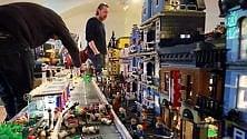 La città ideale con i Lego 7 milioni di mattoncini