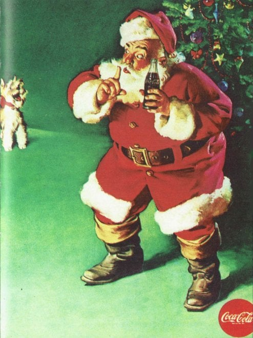 Dal panettone alla Coca: in mostra a Milano le pubblicità natalizie che hanno fatto storia