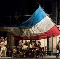 Scala, l'Andrea Chénier per la Prima: le immagini dell'opera diretta dal maestro Chailly