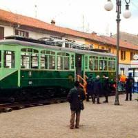 Milano, restaturata dall'Atm l'antica motrice dei tram anni '40