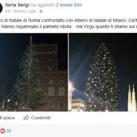 'Vittorio' vs 'Spelacchio', sui social il Natale di Milano batte quello di Roma