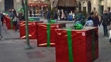 Terrorismo, i blocchi anticamion 'travestiti'    da pacchi di Natale