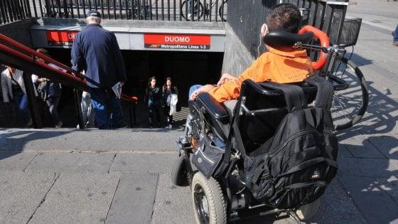 Milano: dal Comune 15mln di euro per abbattere le barriere architettoniche