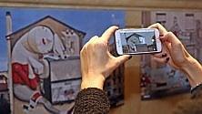 Street art animata una galleria itinerante Basta lo smartphone