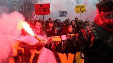 """No alternanza scuola-lavoro, gli studenti di Milano contro aziende che """"sfruttano""""   ·foto"""