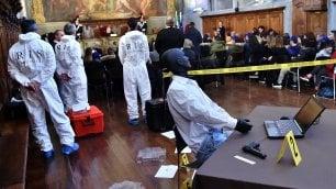 Una scena del crimine  nel museo della Scienza