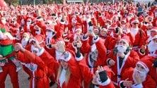 Babbo running, la marcia più allegra del Natale