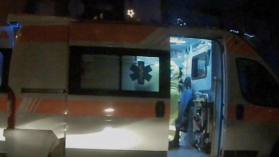 Scooter contro furgone in via Tea Benedetti, un morto
