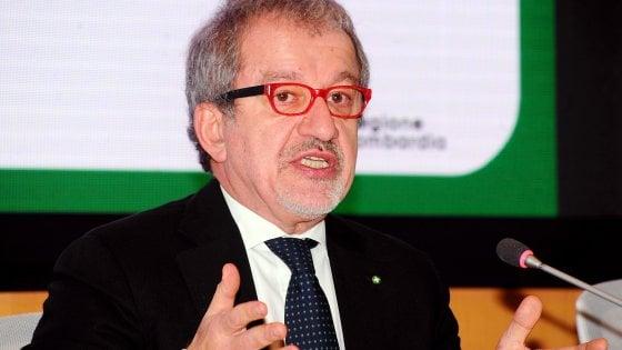 """Maroni conferma la sua rinuncia a ricandidarsi in Lombardia ma dice: """"Sono a disposizione"""""""