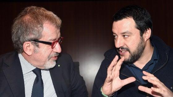 """Maroni annuncia: """"Lascio la politica. Su Salvini è stato solo uno sfogo umano, lo sosterrò"""""""