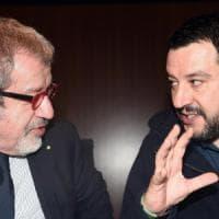 """Maroni annuncia: """"Lascio la politica. Su Salvini è stato solo uno sfogo umano, lo..."""
