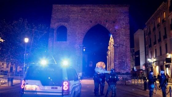 Milano, operazione interforze contro lo spaccio alle Colonne di San Lorenzo