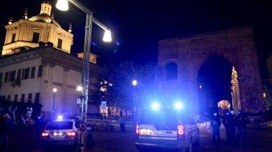 Operazione di polizia contro lo spaccio  alle Colonne di San Lorenzo: 2 arresti   · foto