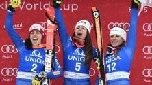 Sci, chi sono le 3 vincitrici  lombarde della storica  tripletta in Austria