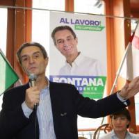Elezioni, bufera su Attilio Fontana per la