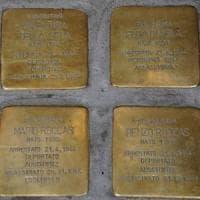 Memoria, 26 nuove pietre di inciampo per le vittime della Shoah. Sala: