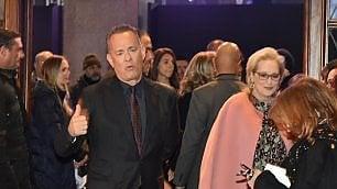 Foto  L'anteprima   di 'The Post'  il red carpet   con gli attori