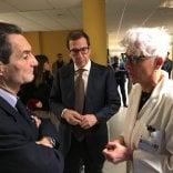 """La Regione: """"No alle passerelle dei candidati negli ospedali"""". Ma la regola non vale per il centrodestra"""