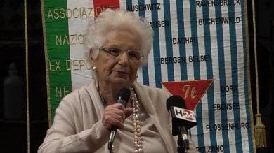 """RepTv  Olocausto, la senatrice a vita Segre: """"Ragazzi fate scelte contro l'indifferenza"""""""