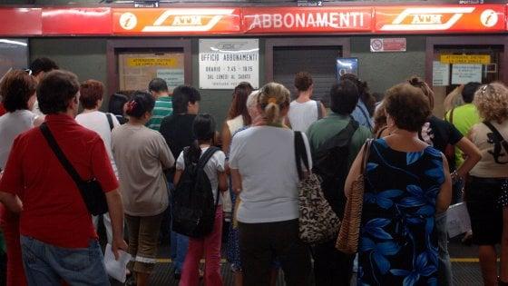 Milano. Abbonamenti Atm agevolati per disoccupati e inoccupati