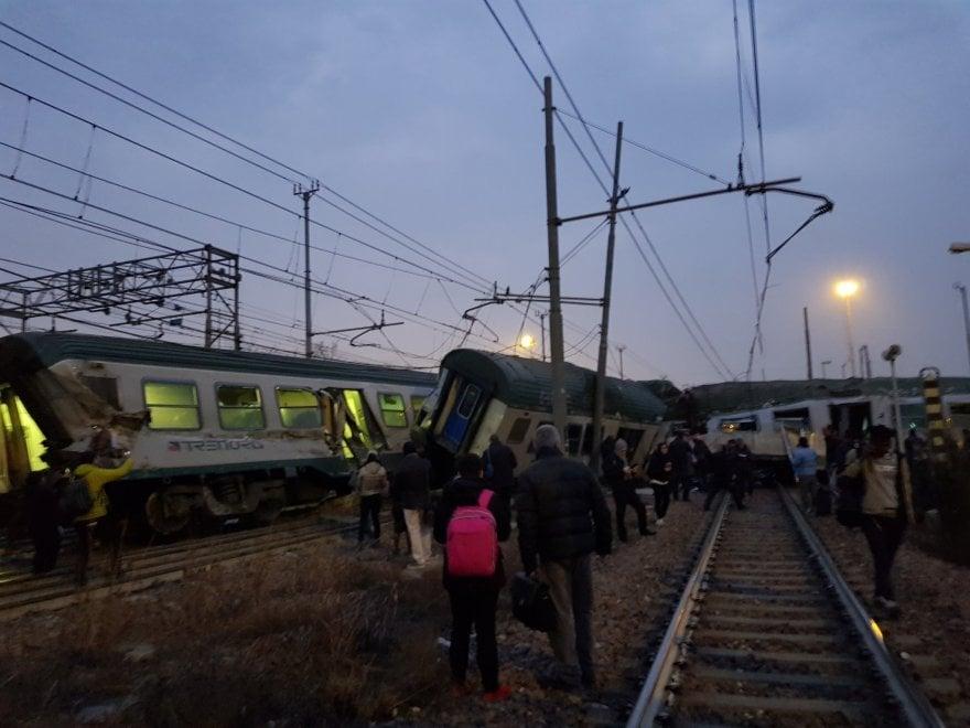 Milano treno deraglia tra pioltello e segrate il - Treno milano porta garibaldi bergamo ...