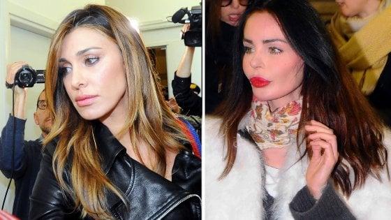 Nina Moric trascinata in tribunale da Belen Rodriguez per diffamazione