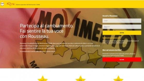 M5S: Casaleggio, contro Rousseau attacco politico, spero scovino mandanti
