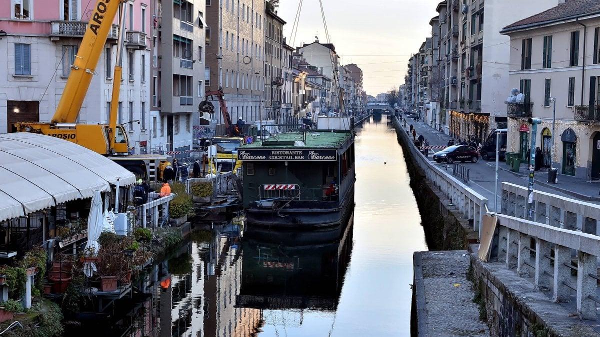 Milano il comune mette all 39 asta i quattro barconi rimossi for Quattro ristoranti genova