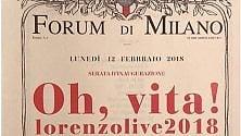 Jovanotti, la locandina  per il tour imita lo stile  'Prima della Scala'